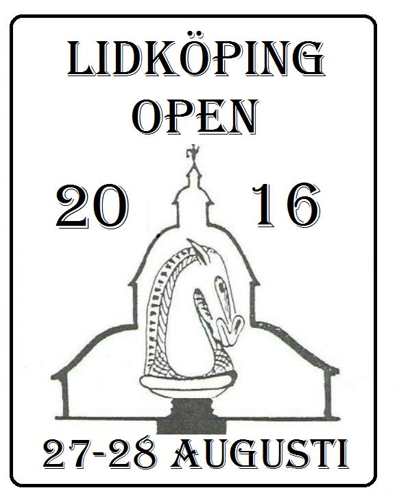 INBJUDAN – LIDKÖPING OPEN 2016